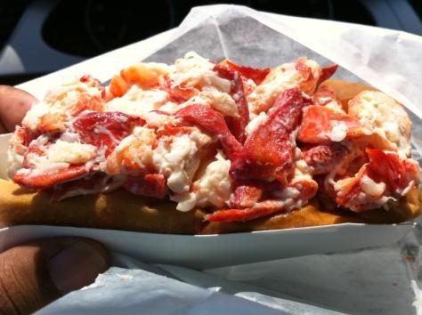 PJ's Lobster roll.