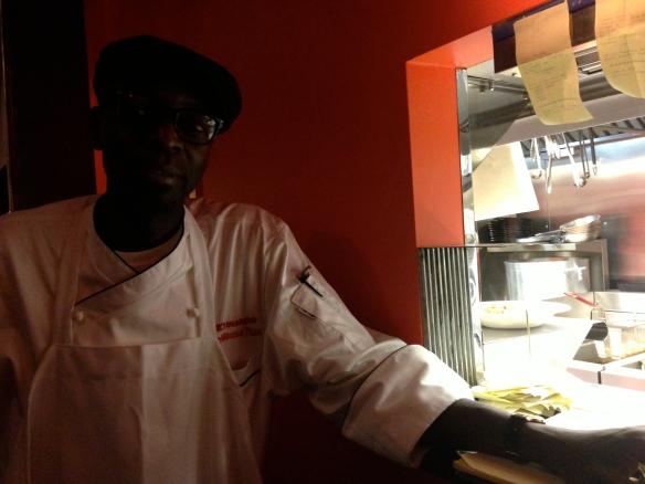 Head Chef - Moussa Thiam.