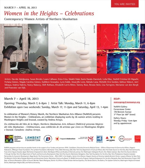 Women in the Heights - Celebrations